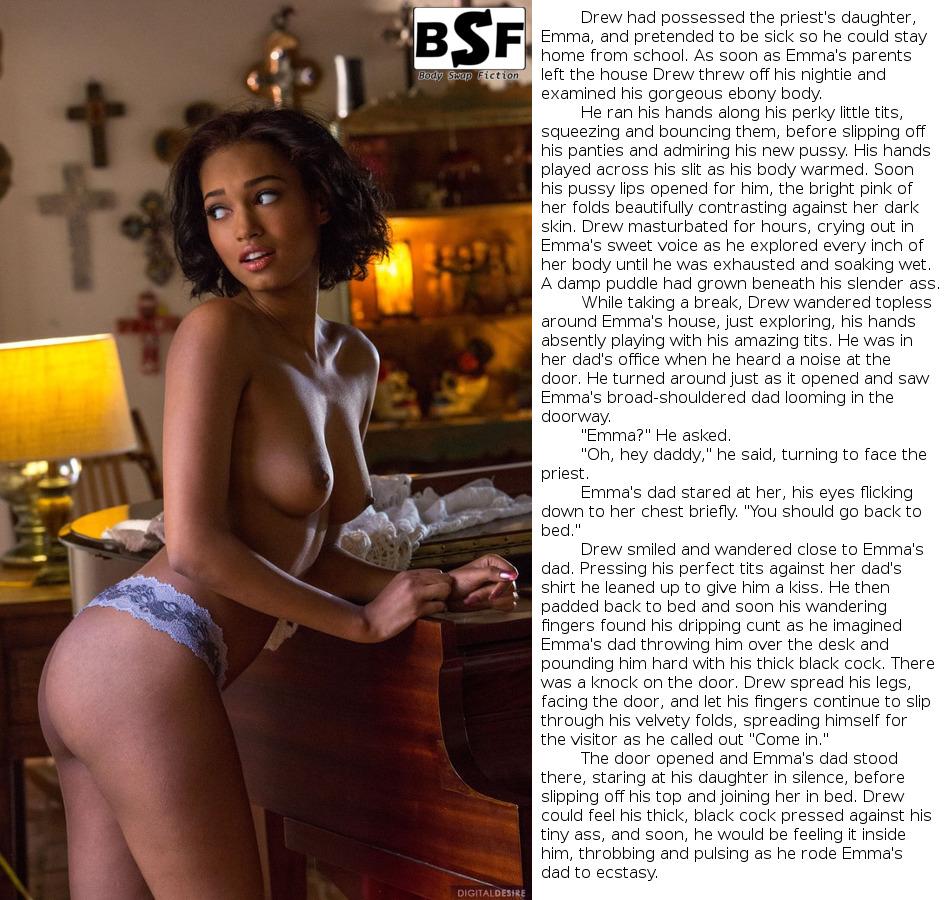 Female Stripper Possession Caption